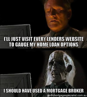 Should Have Used A Mortgage Broker Meme